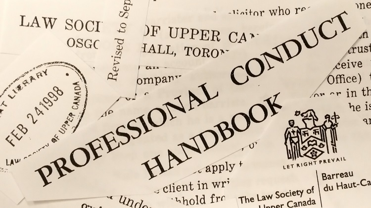 Professional Conduct Rules