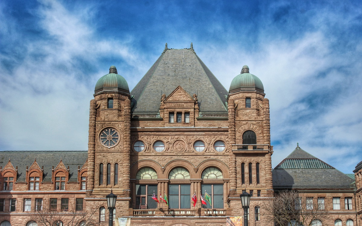 Queens Park Ontario Legislature building
