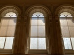 Photo of windows in the Great Library