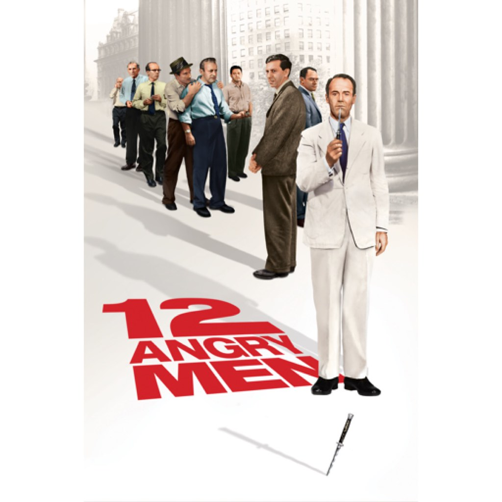 "Movie poster for ""12 Angry Men"""